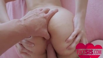 Stunning pornstar India Summer takes on two cocks
