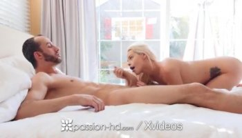 Lubricated cock fucking Nina North in her pussy
