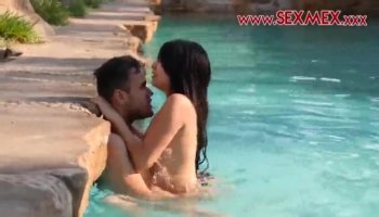 Busty brunette Susana Alcala is poked from her behind