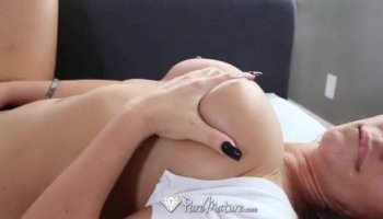 Butt is pounded on webcam